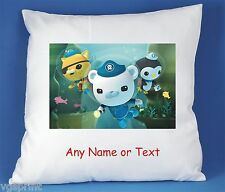 OCTONAUTS PERSONALISED LUXURY SOFT SATIN POLYESTER CUSHION COVER