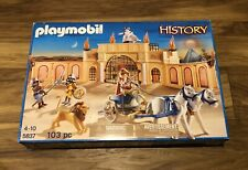 Playmobil History 5837 Roman Arena With Gladiators Lion Chariot 100% Complete