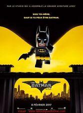 LEGO BATMAN Affiche Cinéma / Movie Poster 160x120