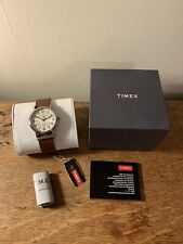 NEW Timex Weekender Classic Watch With Original Box   Indiglo Brown Strap