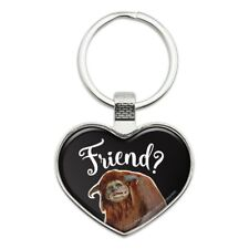 Friend Ludo From The Labyrinth Heart Love Metal Keychain Key Chain Ring