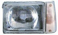 Faro anteriore sinistro per per fiat panda 1986 al 2002 bianco elettrico