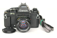 Canon F-1 with AE Head  35mm SLR Camera + 50mm f1.4 Lens (4352BL)