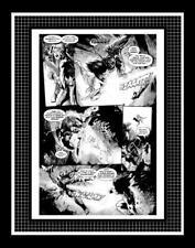 Kev Walker Marvel Zombies 3 #1 Rare Production Art Pg 7 Monotone