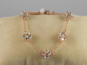 Kate Spade Rose Gold Plated LADY MARMALADE Crystal Ball Chain Bracelet $129