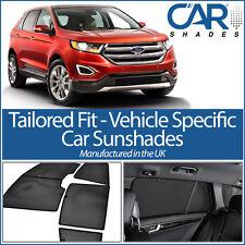 Ford Edge 5 Door 2015 On UV CAR SHADE WINDOW SUN BLINDS PRIVACY GLASS TINT BLACK