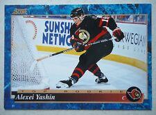 NHL 603 Alexei Yashin Ottawa Senators Top Rookie Score 1994/95