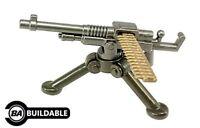 BrickArms M1909 Hotchkiss MK1 (Benét Mercié) Gun for Custom Minifigures NEW WW1
