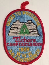 1969 AREA 7B Conference Camp Castlerock Lodge 146 With Red Tab Delegate