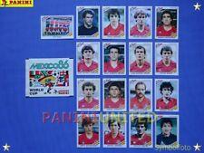 Panini★WM 1986 WorldCup WC 86★Team Spanien Komplett-Satz / Spain complete set