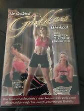 The Kettlebell Goddess Workout Dvd Andrea Du Cane Rkc Fitness Toning Cardio