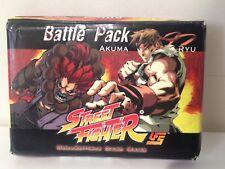 UFS CCG Street Fighter Battle Pack Akuma & Ryu - Open Box - Sealed Decks