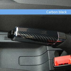 Carbon Fiber Style Car Hand Brake Cover Sleeve Protector Decor Car Accessories
