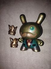 "Kidrobot Dunny 3"" 2010 series Doktor A Steam Punk Collectible Toy Figure 1/25"