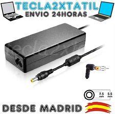CARGADOR DE Y PARA PORTATIL Toshiba PA-1750-09 19V 4,74A PUNTA 5,5 MM 2,5 MM