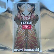 ayumi hamasaki (浜崎あゆみ) - TO BE [AVDD-20316] Japan Import First Press 8cm Single