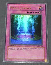 Yu-Gi-Oh Magic Jammer Ultra Rare 1st Edition MRD-128 Trap Card Yugioh Ex-NM