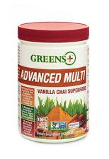 Greens Plus Advanced Multi Vanilla Chai - [ 267g / 9.4 oz ] Greens Powder