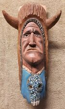 JOE ORTEGA Original Indian Wood Carving SIGNED Sculpture Listed Santa Fe Artist
