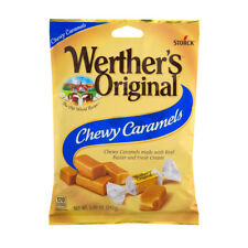 NEW STORCK WERTHER'S ORIGINAL CHEWY CARAMELS CANDIES 5 OZ BAG FREE WORLD SHIPPIN