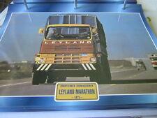 Super Trucks Frontlenker England Leyland Marathon 1973