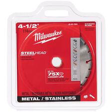 """Milwaukee 49-93-7805 4-1/2"""" SteelHead Diamond Cut-Off Blade"""