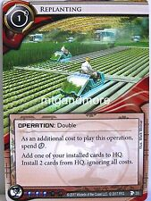 Android Netrunner LCG - 1x #033 Replanting - Station One