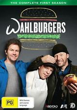 Wahlburgers Season 1 DVD 2 Disc Set Mark Wahlberg NKOTB Burgers Family