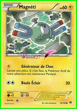 "Carte Pokemon "" MAGNETI "" Impulsion Turbo XY PV 60 52/162 VF"