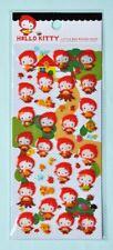 Hello Kitty Red Riding Hood Sticker Sheet