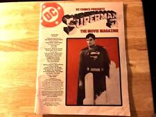 Vintage Superman II The Movie Magazine - Large Sized - Great Condition