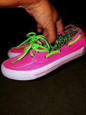 "Bluefin Little Girl Sz. 12 Pink "" Breeze"" Boat Shoe. Cute & Fun"