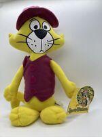 "NEW 14"" Toy Factory Hanna-Barbera Top Cat Plush NWT"