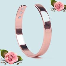 Men Women Copper Bracelet Magnetic Healing Bio Therapy Health Bangle Pain Relief
