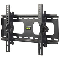 VonHaus Wall Mount TV Bracket Slim Tilt Flat 23 to 37 inch LCD LED PLASMA TV