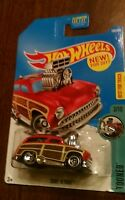 2017 Hot Wheels #198 Tooned 2of10 Surf /'N Turf Red w//5spoke NEW FOR 2017