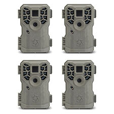 Stealth Cam PX14 8MP 14 IR Emitter Hunting Game Trail Camera with Video, 4 Pack