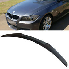 CARBON FIBER FOR BMW E90 4DR SEDAN M4 LOOK TRUNK SPOILER REAR WING