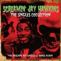 SCREAMIN' JAY HAWKINS - THE SINGLES COLLECTION + BONUS ALBUM (NEW SEALED 2CD)