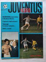HURRA' JUVENTUS N. 4 APRILE 1968 HERIBERTO HERRERA MAGNUSSON EUSEBIO BONIPERTI
