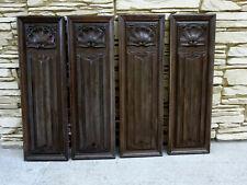 Panneaux en bois sculpté.Haute epoque,boiserie,panneau sculpté,collections.