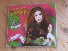 THE KILLER BARBIES - MARS *5 tracks MCD incl. Video* Drakkar Rec. v. 2000 *MINT*