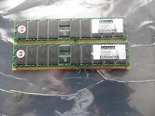 Dataram DTM63640B 512MB (256 X 2) PC2100 DDR-266MHz ECC  184-Pin DIMM Memory