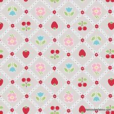 Riley Blake Bake Sale Designer Fabric C3432 Grey 100% Cotton fat quarter +