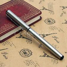 Hero Fountain Pen 266 Student Silver Matte Chrome Steel Fine Nib Fountain Pens