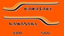 KAWASAKI 500 H1B - Kit carrosserie Sticker decals - 1972