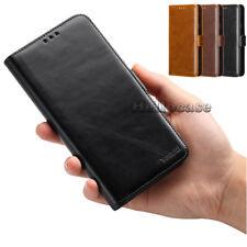 For LG V40/30 ThinQ K20 K30 Aristo Stylo 4/3 Slim Leather Wallet Flip Case Cover