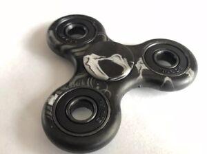5 x Black Fidget Spinner Toy Children Desk Adults Stress Relief ADHD