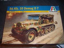 ITALERI SD.KFZ. 10 DEMAG D7 PLASTIC MODEL 1/35