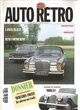 AUTO MOTO RETRO N°154 PHARES ET PROJECTEURS / LANCIA FLAVIA COUPE / HUMBER HAWK